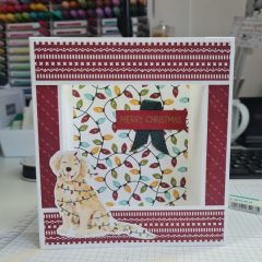 Sweet Stocking DSP Simple Box card