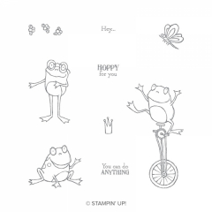 So Hoppy Together Cling Stamps