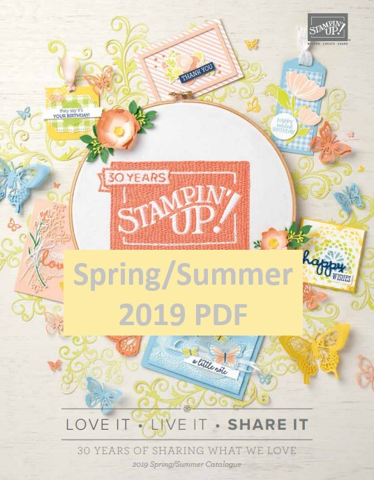 Stampin' Up! Occasions Catalogue