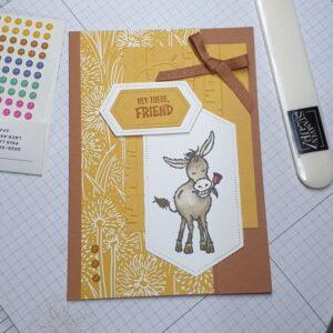 Darling Donkey Card