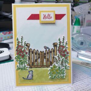 Grace's Garden handmade card