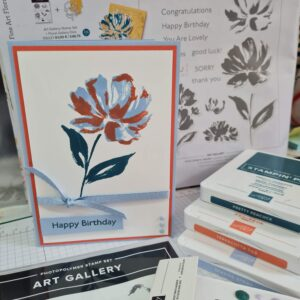 Art Gallery Birthday Card