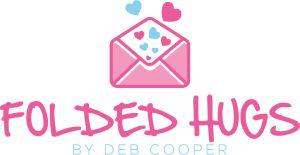 Folded Hugs by Deb Cooper Logo